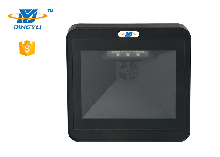 High Quality wall mounted USB RS232 1D 2D Platform Desktop POS Square Barcode Scanner