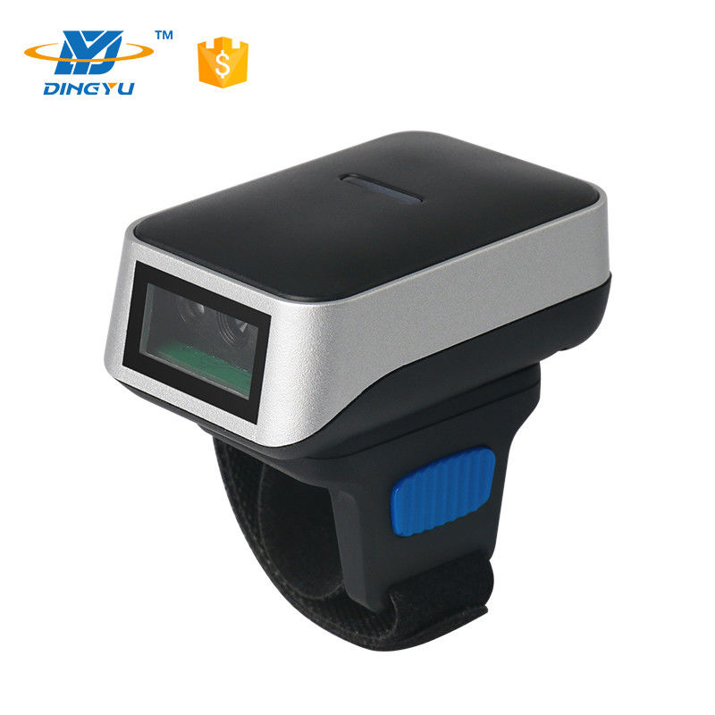 OEM 32 Bit CMOS Wireless QR Code Scanner Mini LED 2d Ring Type Barcode Scanner DI9010-2D